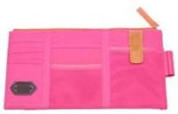 ShopAis Car Sun Visor Point Pocket Documents Organizer Pouch Hanging Bag(Pink)