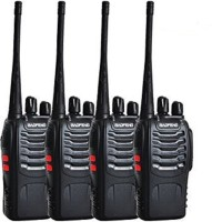 View Baofeng Premium Quality Walkie Talkie 4pcs_baofeng 888s Walkie Talkie(Black) Home Appliances Price Online(Baofeng)