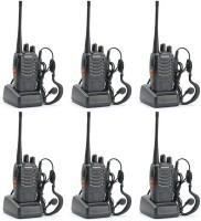 View Baofeng Premium Quality Walkie Talkie 6pcs_baofeng 888s Walkie Talkie(Black) Home Appliances Price Online(Baofeng)