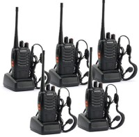 View Baofeng Premium Quality Walkie Talkie 5pcs_baofeng 888s Walkie Talkie(Black) Home Appliances Price Online(Baofeng)