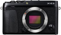 Fujifilm X-E3 Black Digital Mirrorless Camera Body Only(Black)