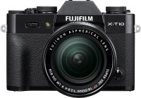 Fujifilm X-T10 Black with XF 18-55 mm F2.8-4.0 R LM OIS Lens Mirrorless Camera Kit(Black)