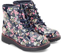 The Children's Place Girls Lace Casual Boots(Multicolor)