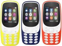 I Kall K3310 Combo of Three Mobiles(Red, Yellow & Dark Blue)
