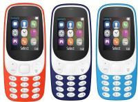 I Kall K3310 Combo of Three Mobiles(Red, Dark Blue & Light Blue)