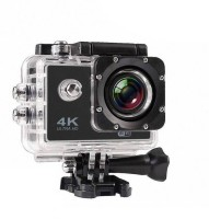 hala 4K 4K action camera Sports and Action Camera(Black 16 MP)