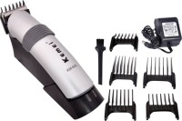 Kemei KM-609 A C Cordless Grooming Kit for Men - 60 minutes run time(Silver)