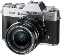Fujifilm X-T20 Silver With XF 18-55 mm F2.8-4.0 R LM OIS Lens Mirrorless Camera Kit(Silver)