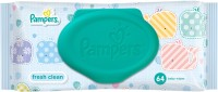 Pampers Fresh Clean Baby Wipe(64 Pieces)