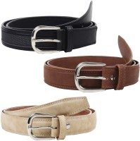 Jainsons Women Casual, Party Black, Brown, Beige Artificial Leather Belt