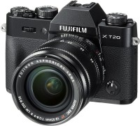Fujifilm X-T20 Black With XF 18-55 mm F2.8-4.0 R LM OIS Lens Mirrorless Camera Kit(Black)