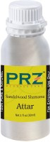 PRZ Sandalwood Shamama Attar For Unisex (30 ML) - Pure Natural Premium Quality Perfume (Non-Alcoholic) Floral Attar(Sandalwood)