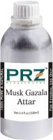 PRZ Musk Gazala Attar For Unisex (100 ML) - Pure Natural Premium Quality Perfume (Non-Alcoholic) Floral Attar(Floral)