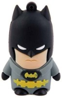 View Microware Batman Shape 8 GB Pen Drive(Grey, Black) Price Online(Microware)