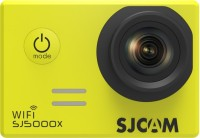 SJCAM 4K SJ5000X Elite WiFi 4K 24fps 2K30fps Gyro Sports DV 2.0 LCD NTK96660 Diving 30m Waterproof Sports and Action Camera(Yellow, 12 MP)
