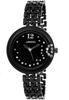 Abrexo AbxHN5018-Black Ladies Special Basic Raga Design Unrepeatable Series Watch  - For Women