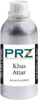 PRZ Khus Attar Roll-on For Unisex (500 ML) - Pure Natural Premium Quality Perfume (Non-Alcoholic) Floral Attar(Floral)