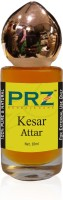PRZ Kesar Attar Roll-on For Unisex (10 ML) - Pure Natural Premium Quality Perfume (Non-Alcoholic) Floral Attar(Floral)