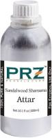 PRZ Sandalwood Shamama Attar For Unisex (300 ML) - Pure Natural Premium Quality Perfume (Non-Alcoholic) Floral Attar(Sandalwood)