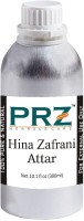 PRZ Hina Zafrani Attar For Unisex (300 ML) - Pure Natural Premium Quality Perfume (Non-Alcoholic) Floral Attar(Floral)