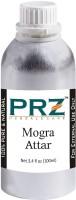 PRZ Mogra Attar For Unisex (100 ML) - Pure Natural Premium Quality Perfume (Non-Alcoholic) Floral Attar(Motia/Jasmin)