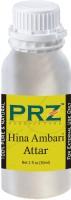PRZ Hina Ambari Attar For Unisex (30 ML) - Pure Natural Premium Quality Perfume (Non-Alcoholic) Floral Attar(Floral)