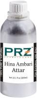 PRZ Hina Ambari Attar For Unisex (300 ML) - Pure Natural Premium Quality Perfume (Non-Alcoholic) Floral Attar(Floral)