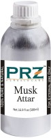 PRZ Musk Attar Roll-on For Unisex (500 ML) - Pure Natural Premium Quality Perfume (Non-Alcoholic) Floral Attar(Floral)