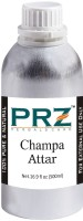 PRZ Champa Attar Roll-on For Unisex (500 ML) - Pure Natural Premium Quality Perfume (Non-Alcoholic) Floral Attar(Champa)