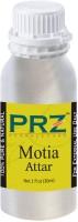 PRZ Motia Attar For Unisex (30 ML) - Pure Natural Premium Quality Perfume (Non-Alcoholic) Floral Attar(Floral)