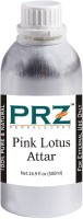 PRZ Pink Lotus Attar Roll-on For Unisex (500 ML) - Pure Natural Premium Quality Perfume (Non-Alcoholic) Floral Attar(Pink Lotus)