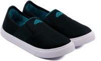 Asian Boys Slip on Sneakers(Black)