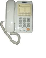 View Sonics HT-868 Corded Landline Phone(White) Home Appliances Price Online(Sonics)