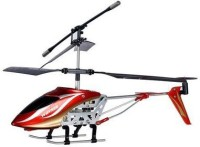 Sirius Toys Cyclone 3 Channel Rc Helicopter(Red)