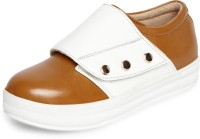 Marc Loire Marc Loire Womens Tan Solid Round Toe Velcro Casual Shoes Sneakers Flats Sneakers For Women(Tan)