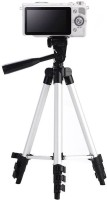 VibeX ® Magnesium Aluminium Alloy Tripod , Ultra Compact and Lightweight Aluminum Tripod Tripod(Silver, Supports Up to 1500 g)