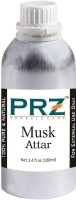PRZ Musk Attar For Unisex (100 ML) - Pure Natural Premium Quality Perfume (Non-Alcoholic) Floral Attar(Floral)