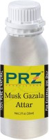 PRZ Musk Gazala Attar For Unisex (30 ML) - Pure Natural Premium Quality Perfume (Non-Alcoholic) Floral Attar(Floral)