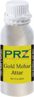 PRZ Gold Mohar Attar For Unisex (30 ML) - Pure Natural Premium Quality Perfume (Non-Alcoholic) Floral Attar(Gulmohar)