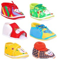 Brats N Angels Boys & Girls Slip on Casual Boots(Multicolor)