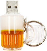 Pankreeti Beer Glass Cup 16 GB Pen Drive(Yellow)