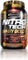 Muscletech Performance Series Nitrotech 100% Whey Gold Whey Protein(1.02 kg, Double Rich Chocolate)