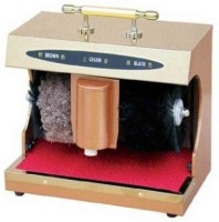 View PUFFIN Gold Automatic Shoe Polishing Machine(Sole Cleaner Present) Home Appliances Price Online(PUFFIN)