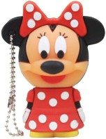 View Microware Minnie Mouse Shape 8 GB Pen Drive(Red) Price Online(Microware)