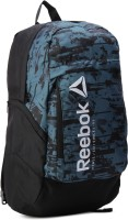 Reebok ACTIVE BP 28 L Backpack(Black, Blue)