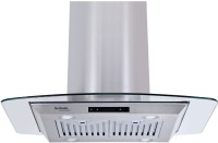 Hindware Olivia Plus 90 Wall and Ceiling Mounted Chimney(Inox 1100)