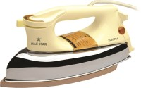 View Maxstar DI05 Electra Dry Iron(Ivory, Silver) Home Appliances Price Online(Maxstar)