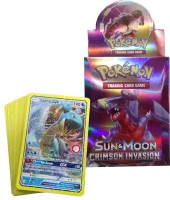 AncientKart Pokemon Crimson Invasion Deck with Shinning cards(Multicolor)