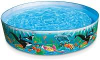 KT BROTHERS 4 Feet Kids Water Pool Bath Tub Swimming Pool Bath Toy Bath Toy(Multicolor)