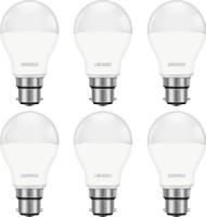 Luminous 9 W Round B22 D LED Bulb(White, Pack of 6)